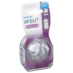 Avent Natural Pacifier Medium 3 Holes