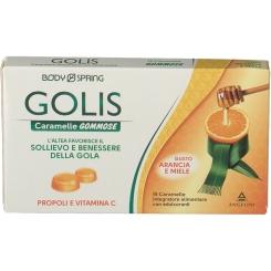 BODY SPRING GOLIS caramelle gommose arancia e miele