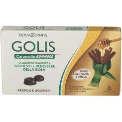 BODY SPRING GOLIS caramelle gommose