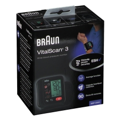 Braun Sphygmomanometer Wrist BBP2200 Vitalscan 3