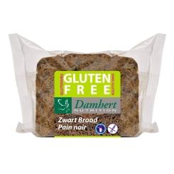 Damhert Glutenvrij Zwart Brood Gesneden