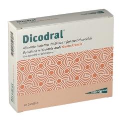 Dicodral® Soluzione Reidratante Orale Gusto Arancia
