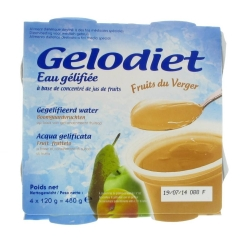Gelodiet Gelled Water Sugared Orchard Fruit
