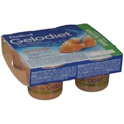 Gelodiet Water Gel Sugar Orange