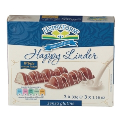 Happy Farm® White Snack 3x33g