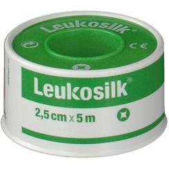 Leukosilk Sticking Plaster 2,5cm x 5m