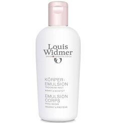 Louis Widmer Body Emulsion Light perfumed