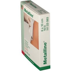 Metalline® Compresse 8 cm x 10 cm