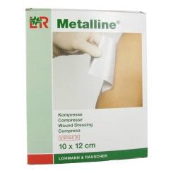 Metalline Sterile Compressa 10 x 12cm 23084