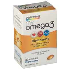 Multicentrum® MyOmega3 60 Mini perle