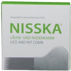 Nisska Lice Comb Metal