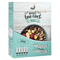 nu3 Smart Low Carb Müsli, Cioccolato