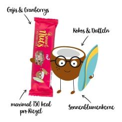 nu3 Smart Nuts Bacche Rosse e Cocco, Barretta