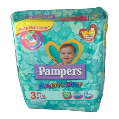 Pampers Baby Dry 3 Midi