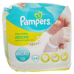 Pampers New Baby Micro 1 - 2,5 kg
