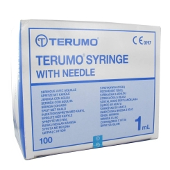 Terumo Disposable Needle 1ml 26g 1/2