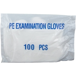 Wolf Gloves Disposable Plast