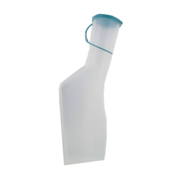 Wolf Urinal Man Plastic Opal Sterile
