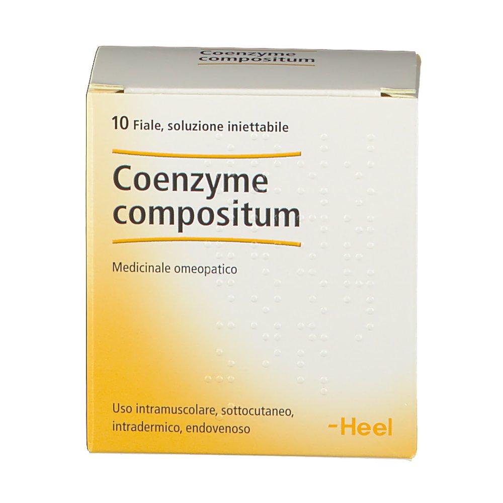 Coenzyme Compositum Fiale Heel a 22,60 € | Trovaprezzi.it ...