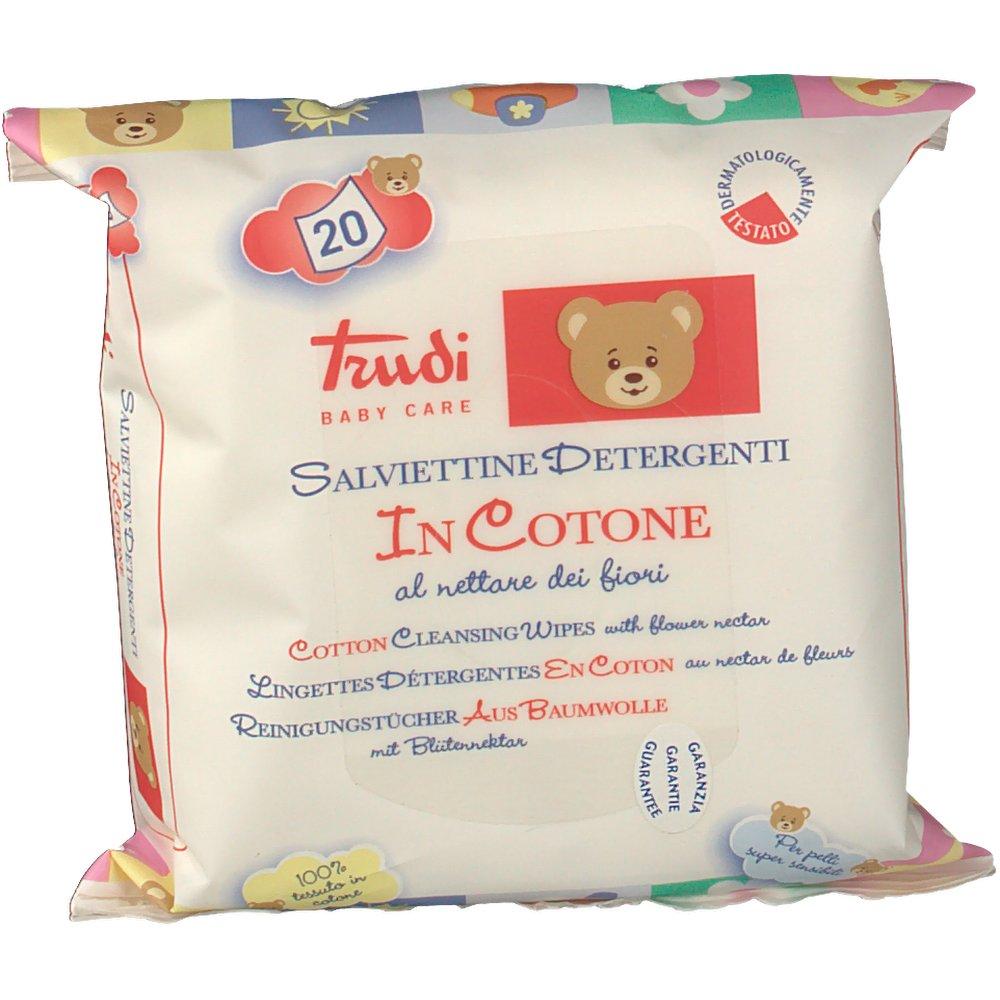 Trudi Baby Salviettine in cotone - shop-farmacia it